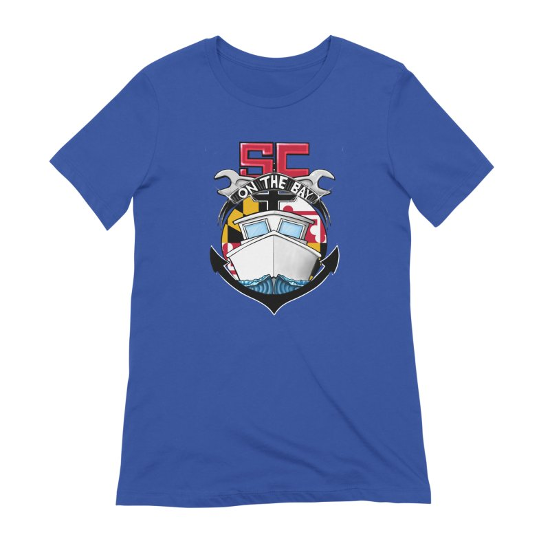 SC on the Bay Women's Extra Soft T-Shirt by MD Design Labs's Artist Shop