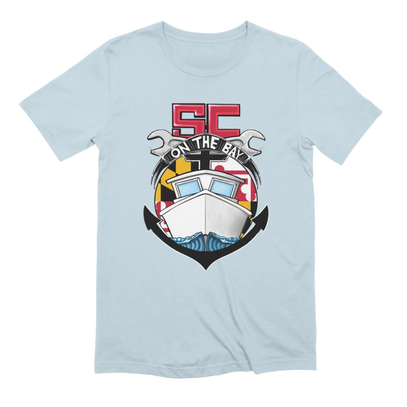 SC on the Bay Men's Extra Soft T-Shirt by MD Design Labs's Artist Shop