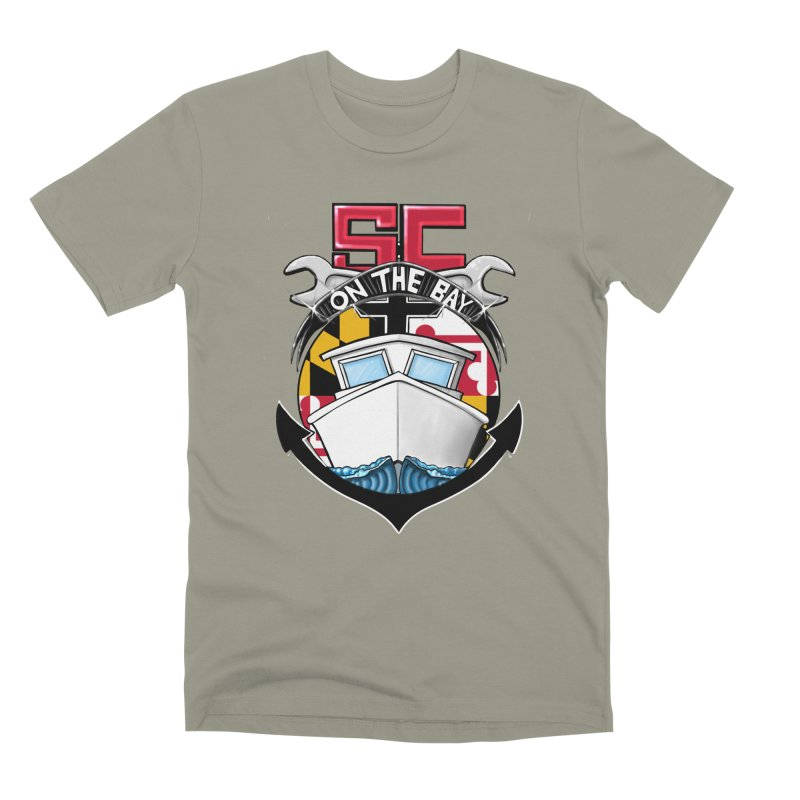 SC on the Bay Men's Premium T-Shirt by MD Design Labs's Artist Shop