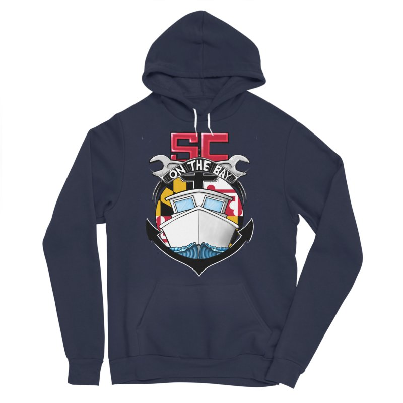 SC on the Bay Women's Sponge Fleece Pullover Hoody by MD Design Labs's Artist Shop