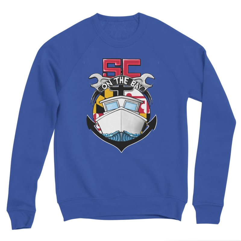 SC on the Bay Men's Sponge Fleece Sweatshirt by MD Design Labs's Artist Shop