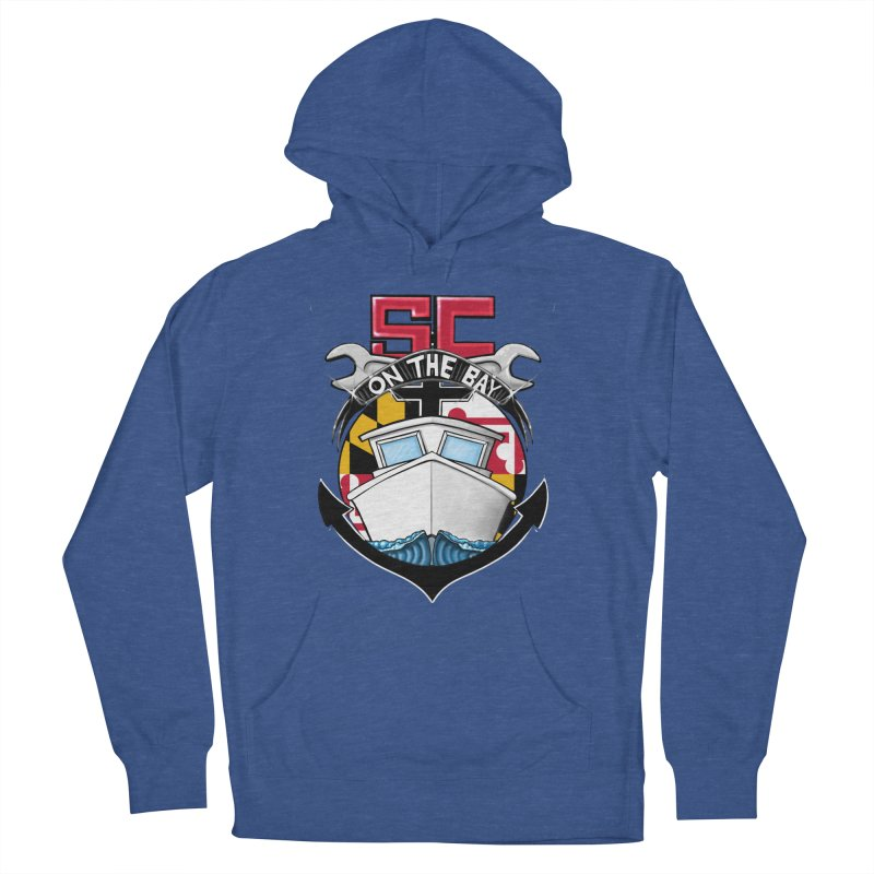 SC on the Bay Women's French Terry Pullover Hoody by MD Design Labs's Artist Shop