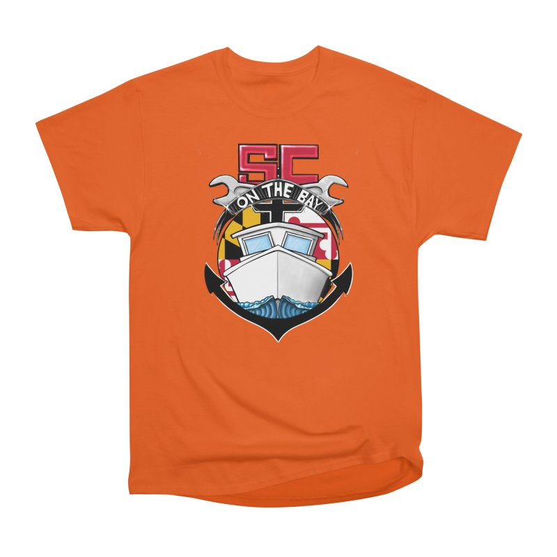 SC on the Bay Men's Heavyweight T-Shirt by MD Design Labs's Artist Shop