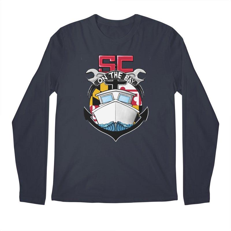 SC on the Bay Men's Regular Longsleeve T-Shirt by MD Design Labs's Artist Shop