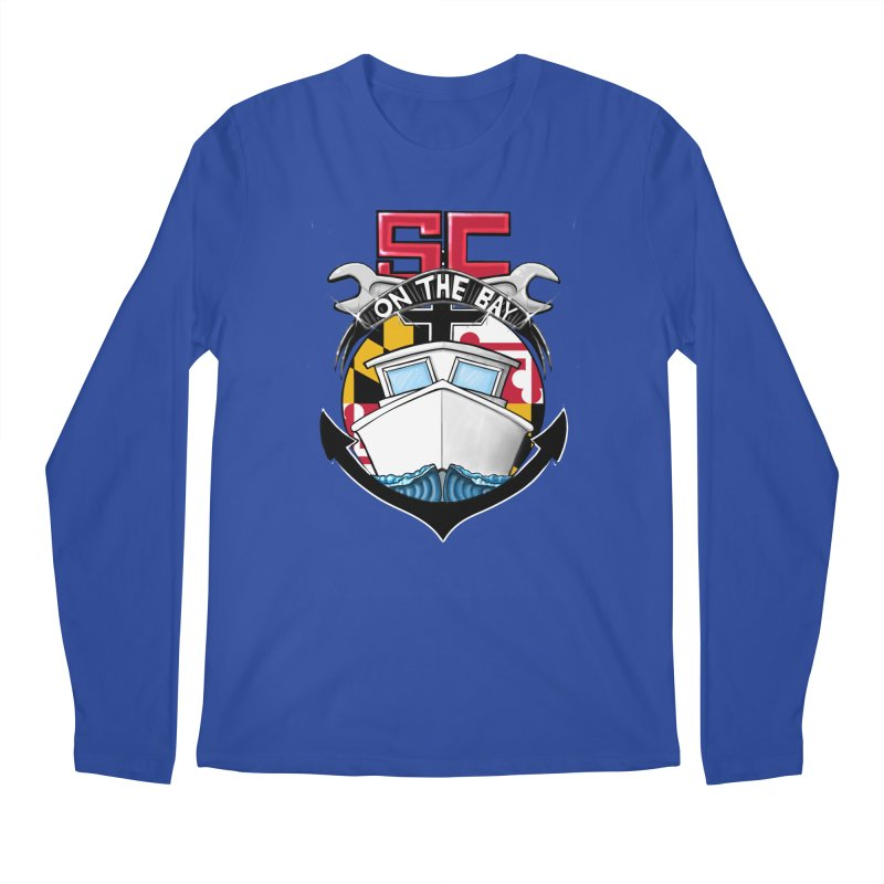 SC on the Bay Men's Regular Longsleeve T-Shirt by MD Design Labs's Artist Shop