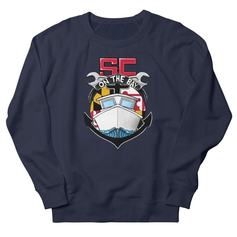 SC on the Bay Men's French Terry Sweatshirt by MD Design Labs's Artist Shop
