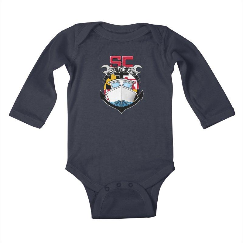 SC on the Bay Kids Baby Longsleeve Bodysuit by MD Design Labs's Artist Shop