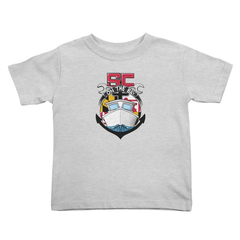 SC on the Bay Kids Toddler T-Shirt by MD Design Labs's Artist Shop