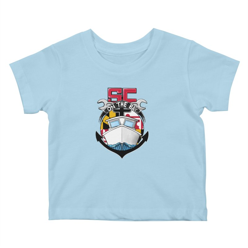 SC on the Bay Kids Baby T-Shirt by MD Design Labs's Artist Shop