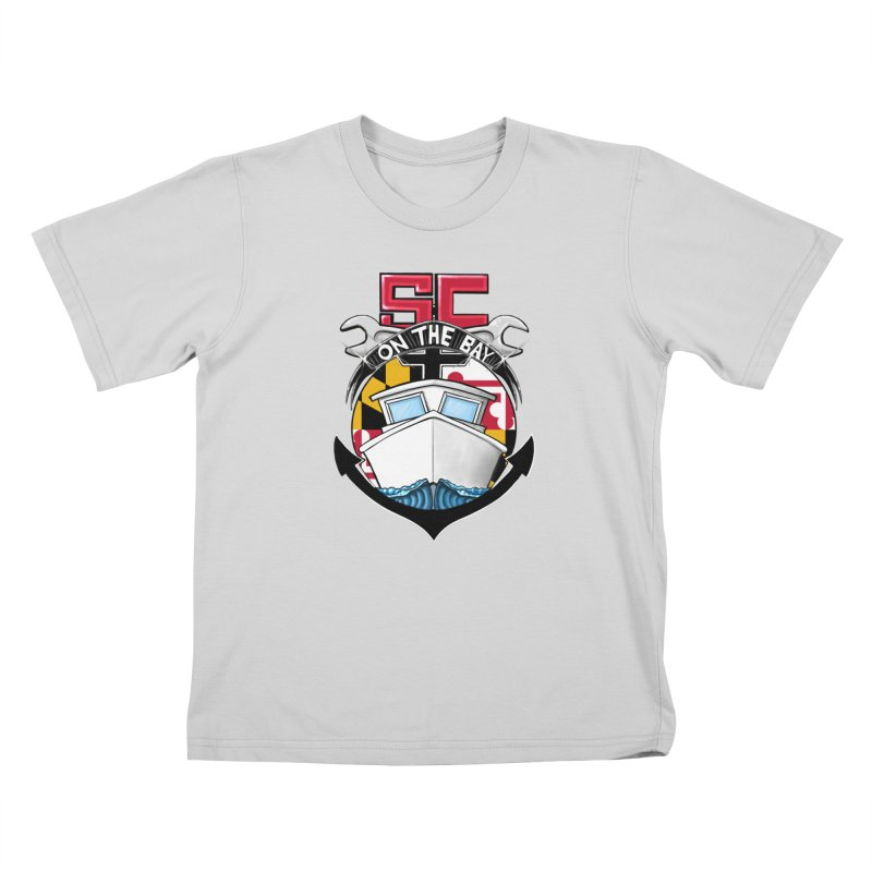 SC on the Bay Kids T-Shirt by MD Design Labs's Artist Shop