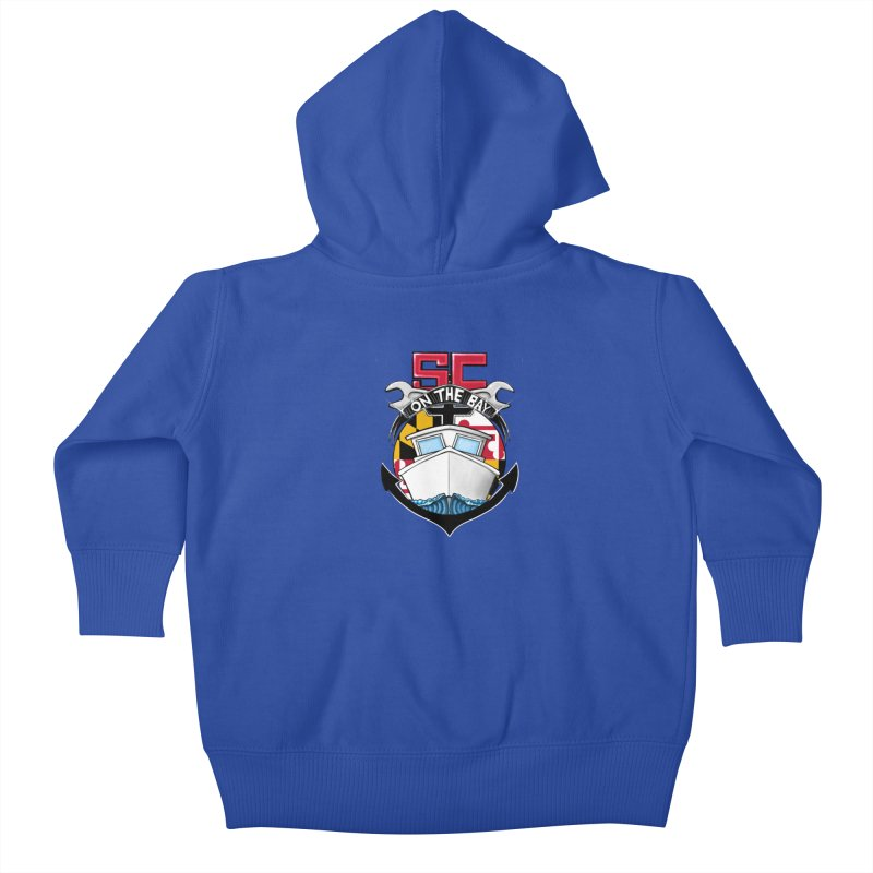SC on the Bay Kids Baby Zip-Up Hoody by MD Design Labs's Artist Shop