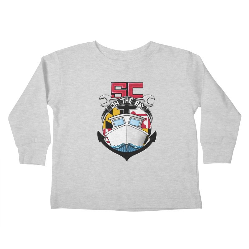 SC on the Bay Kids Toddler Longsleeve T-Shirt by MD Design Labs's Artist Shop