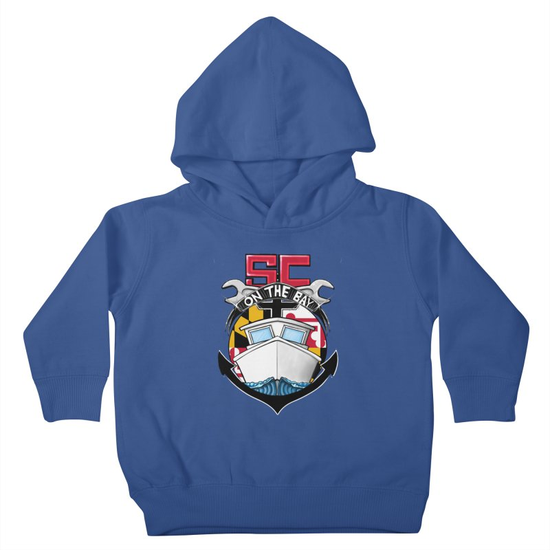 SC on the Bay Kids Toddler Pullover Hoody by MD Design Labs's Artist Shop
