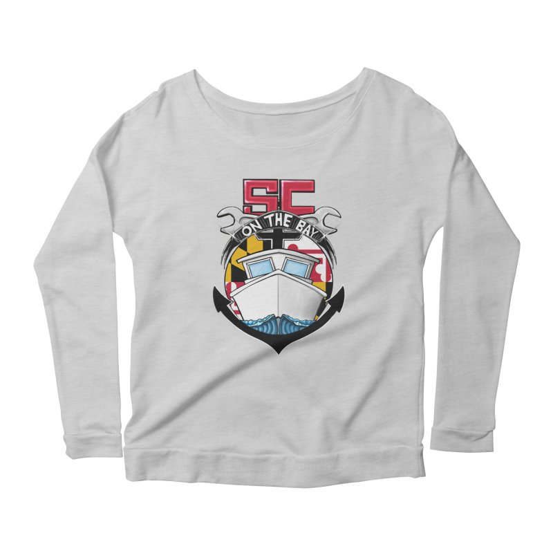 SC on the Bay Women's Scoop Neck Longsleeve T-Shirt by MD Design Labs's Artist Shop