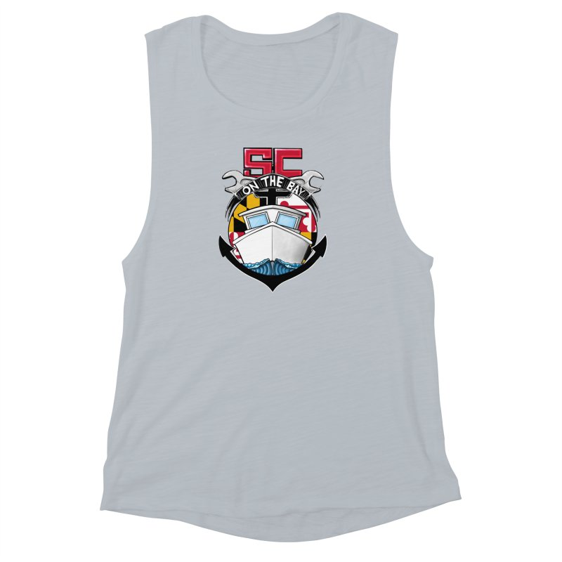 SC on the Bay Women's Muscle Tank by MD Design Labs's Artist Shop