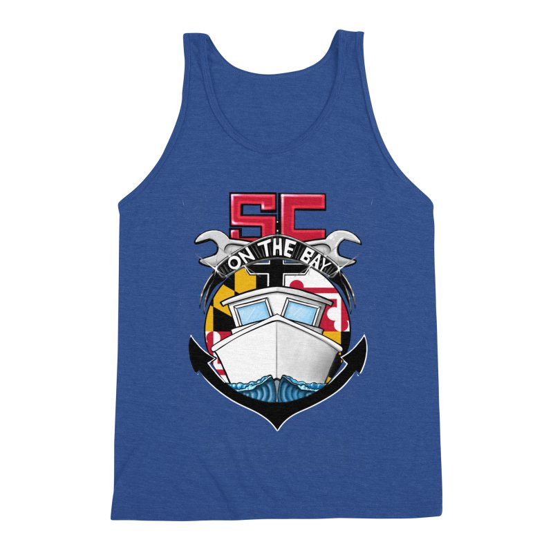 SC on the Bay Men's Triblend Tank by MD Design Labs's Artist Shop