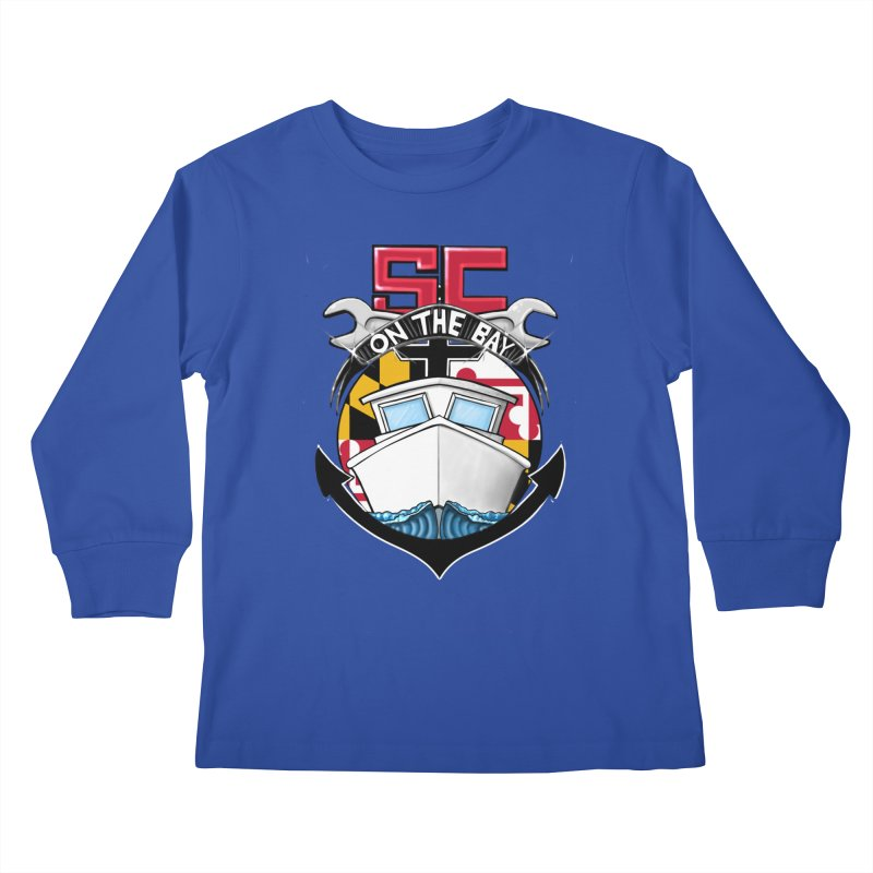 SC on the Bay Kids Longsleeve T-Shirt by MD Design Labs's Artist Shop