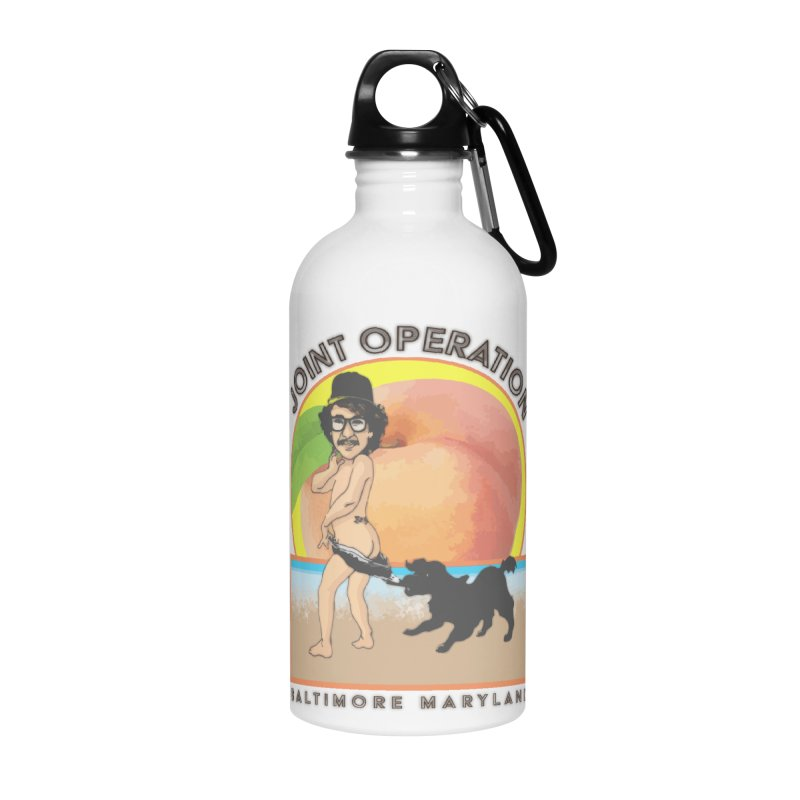 Peachy Accessories Water Bottle by MD Design Labs's Artist Shop