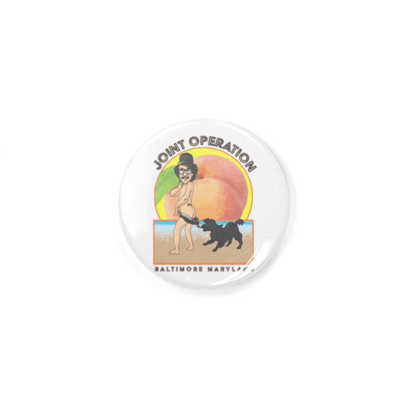 Peachy Accessories Button by MD Design Labs's Artist Shop