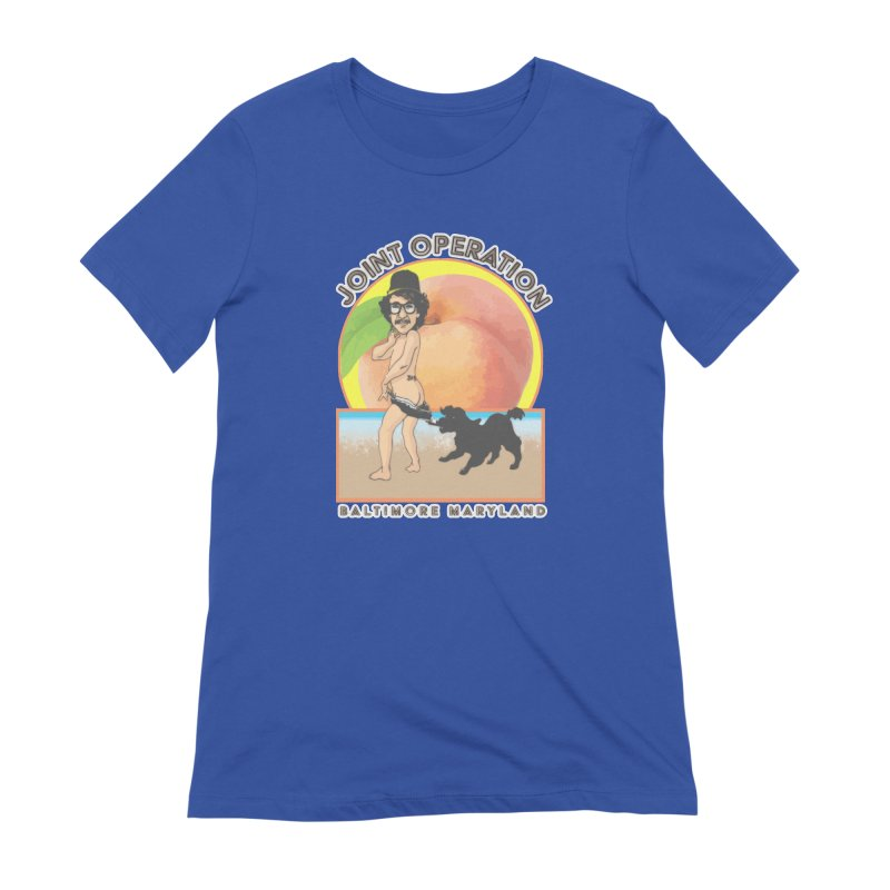Peachy Women's Extra Soft T-Shirt by MD Design Labs's Artist Shop