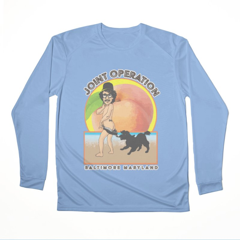 Peachy Men's Performance Longsleeve T-Shirt by MD Design Labs's Artist Shop