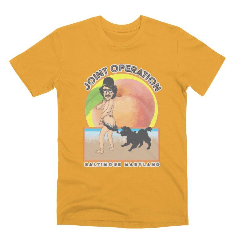 Peachy Men's Premium T-Shirt by MD Design Labs's Artist Shop
