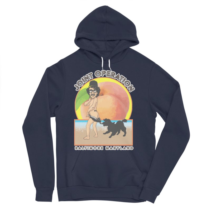 Peachy Men's Sponge Fleece Pullover Hoody by MD Design Labs's Artist Shop