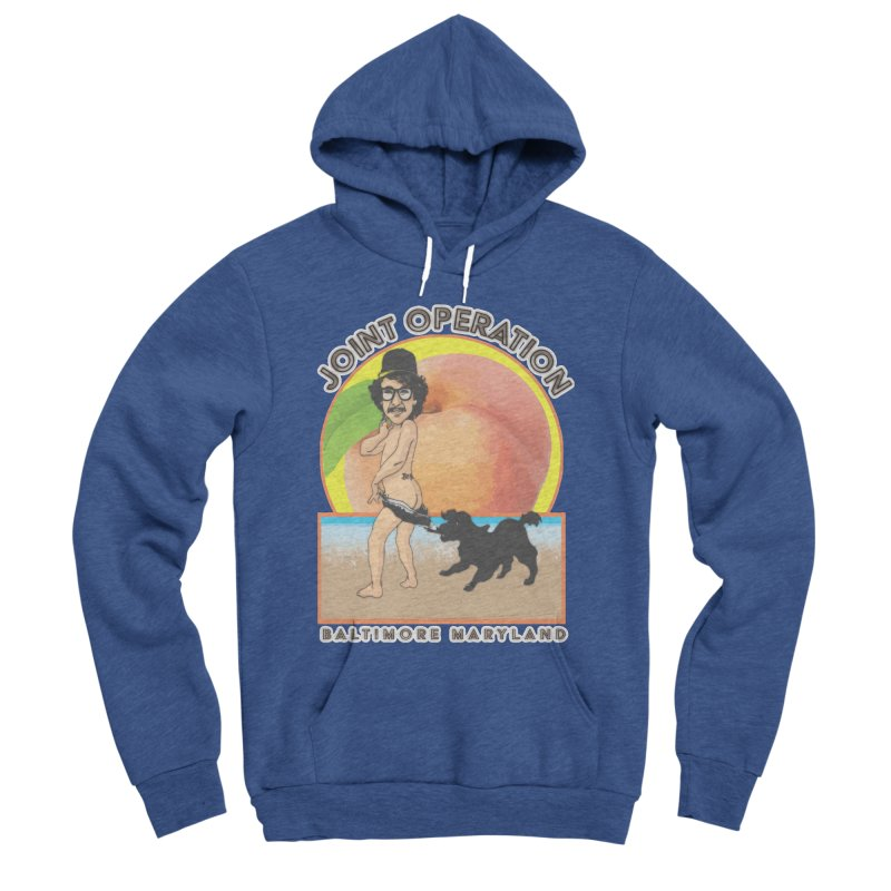 Peachy Women's Sponge Fleece Pullover Hoody by MD Design Labs's Artist Shop