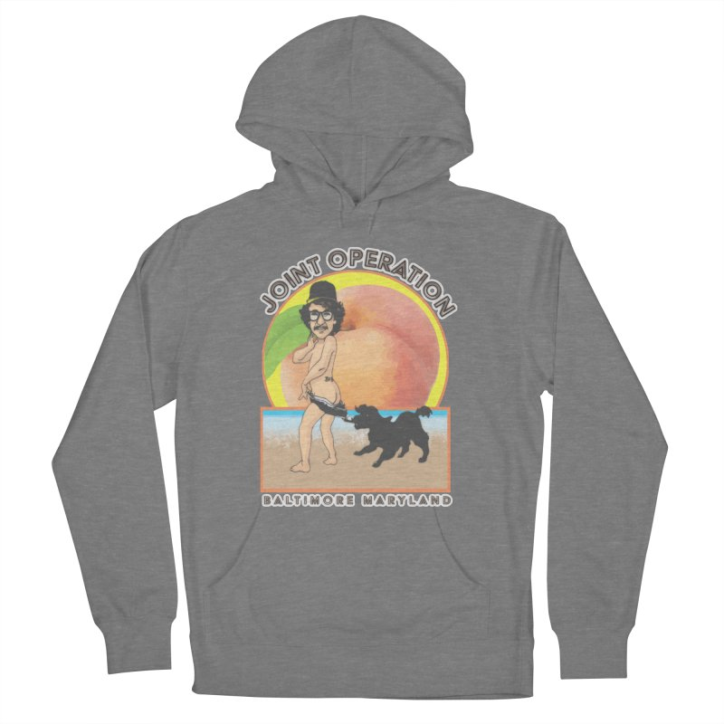 Peachy Men's French Terry Pullover Hoody by MD Design Labs's Artist Shop