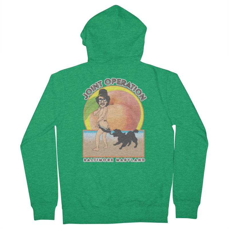 Peachy Women's French Terry Zip-Up Hoody by MD Design Labs's Artist Shop