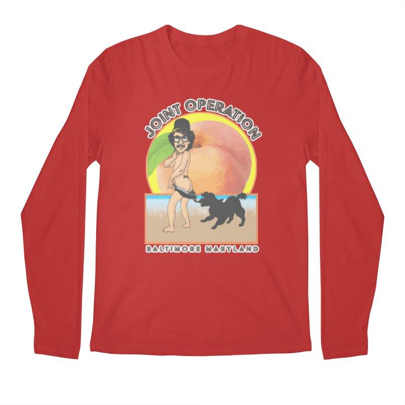 Peachy Men's Regular Longsleeve T-Shirt by MD Design Labs's Artist Shop