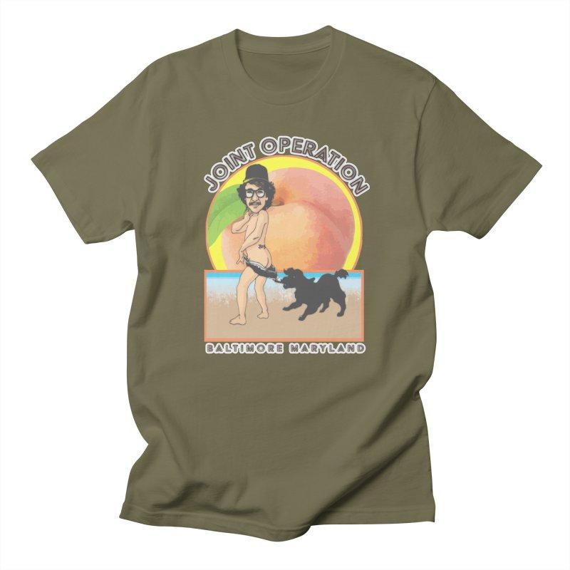 Peachy Women's Regular Unisex T-Shirt by MD Design Labs's Artist Shop