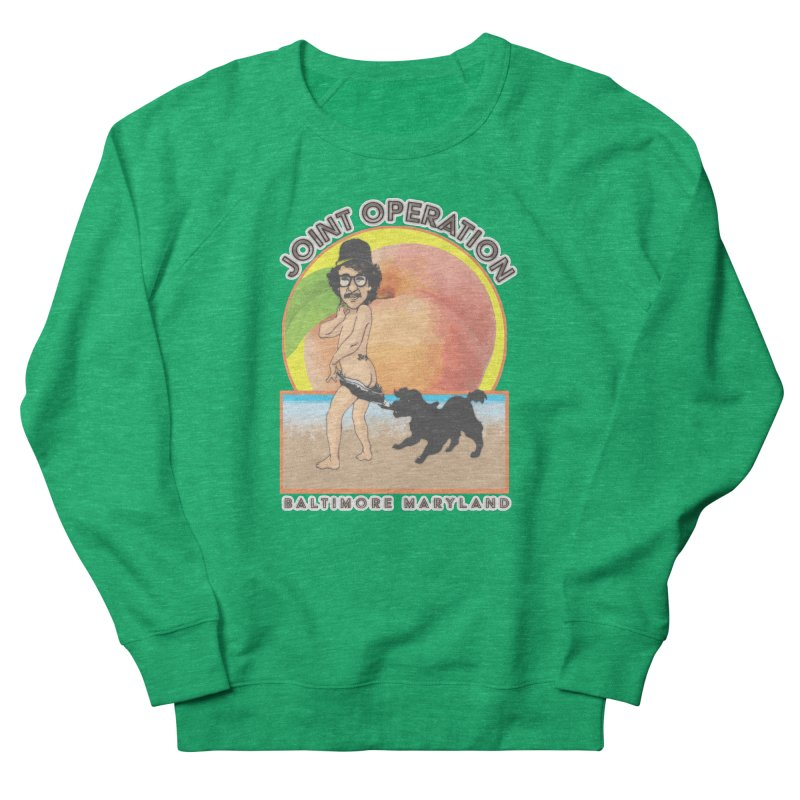 Peachy Women's French Terry Sweatshirt by MD Design Labs's Artist Shop