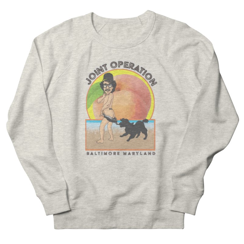 Peachy Men's French Terry Sweatshirt by MD Design Labs's Artist Shop