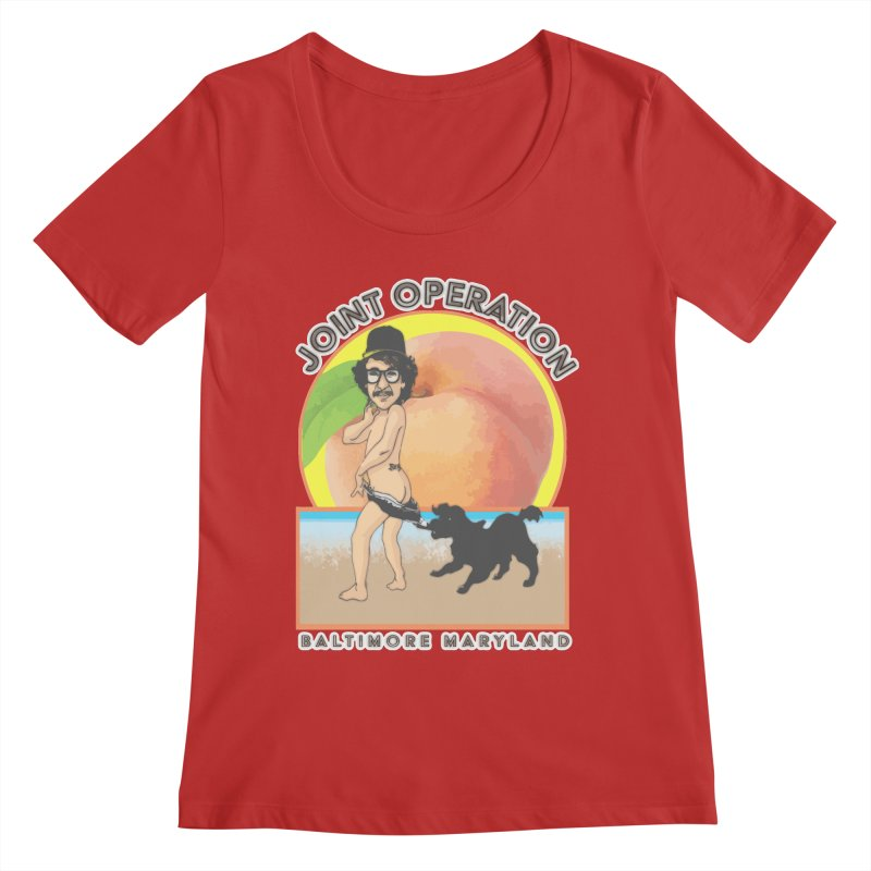 Peachy Women's Regular Scoop Neck by MD Design Labs's Artist Shop