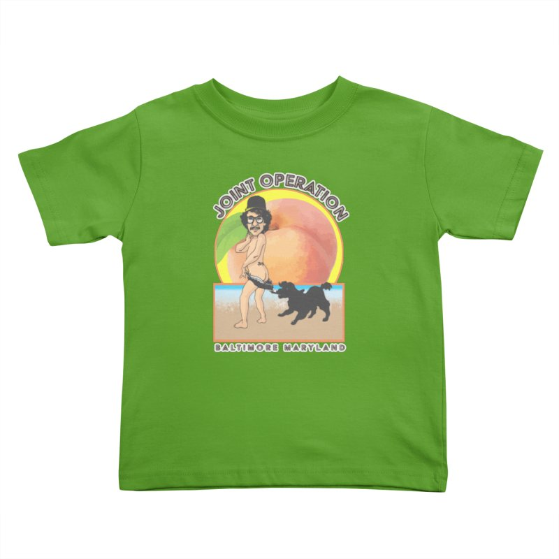 Peachy Kids Toddler T-Shirt by MD Design Labs's Artist Shop