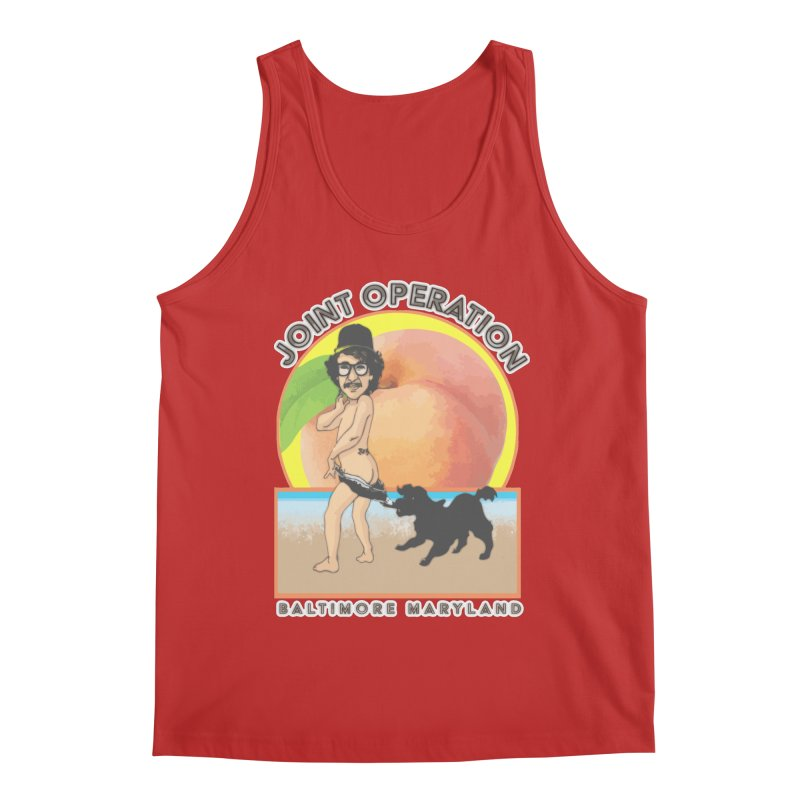 Peachy Men's Regular Tank by MD Design Labs's Artist Shop