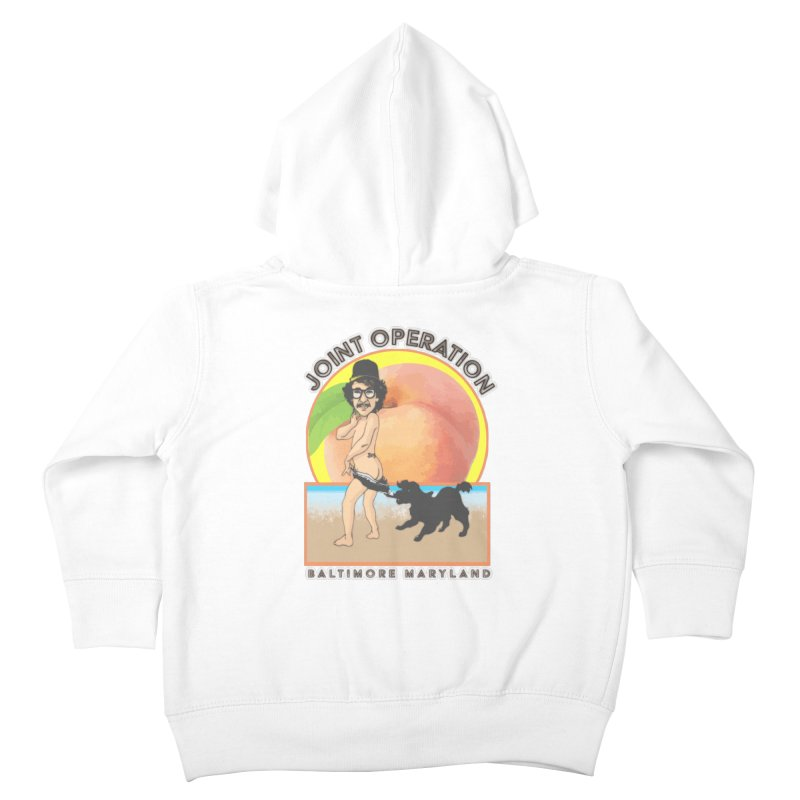 Peachy Kids Toddler Zip-Up Hoody by MD Design Labs's Artist Shop