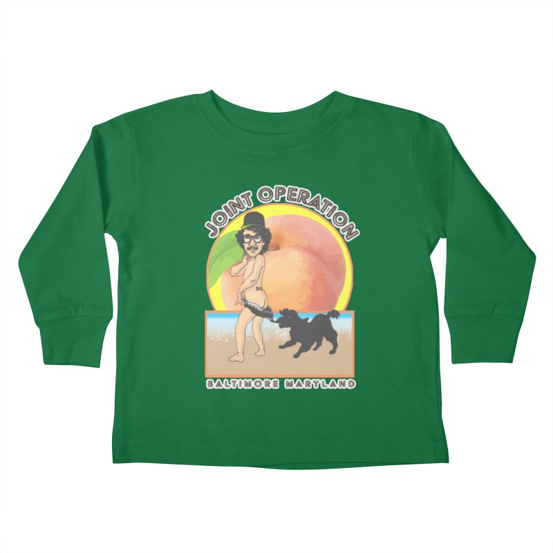 Peachy Kids Toddler Longsleeve T-Shirt by MD Design Labs's Artist Shop