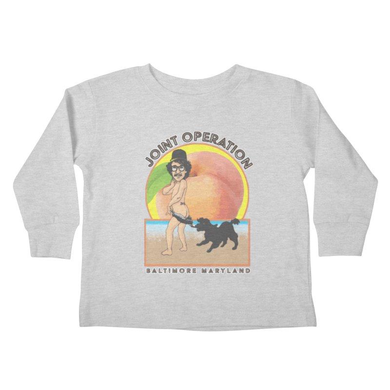 Peachy Kids Toddler Longsleeve T-Shirt by MD Design Labs's Artist Shop