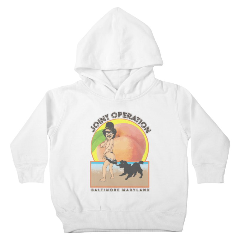 Peachy Kids Toddler Pullover Hoody by MD Design Labs's Artist Shop
