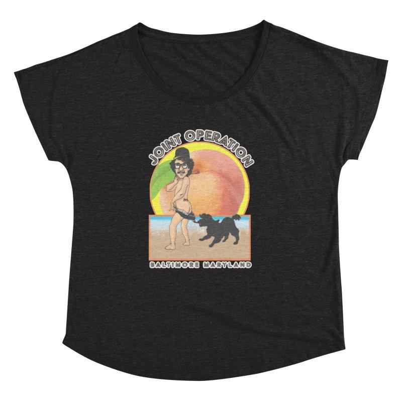 Peachy Women's Dolman Scoop Neck by MD Design Labs's Artist Shop