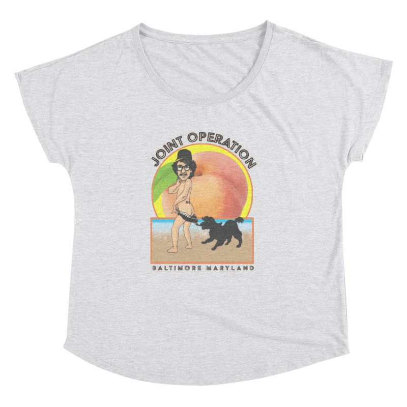Peachy Women's Dolman Scoop Neck by MD Design Labs's Artist Shop
