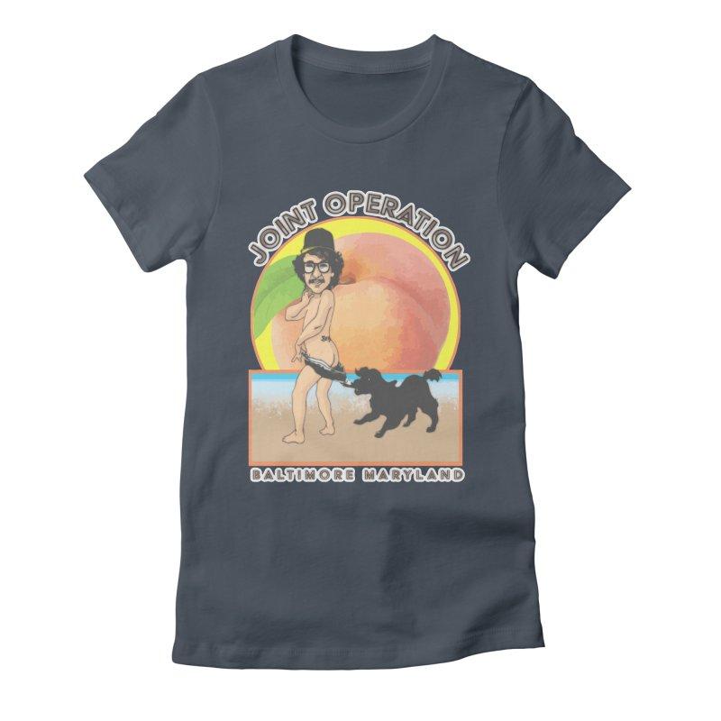 Peachy Women's T-Shirt by MD Design Labs's Artist Shop