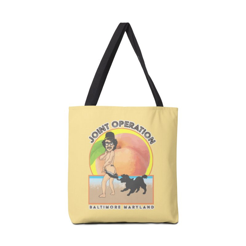 Peachy Accessories Tote Bag Bag by MD Design Labs's Artist Shop