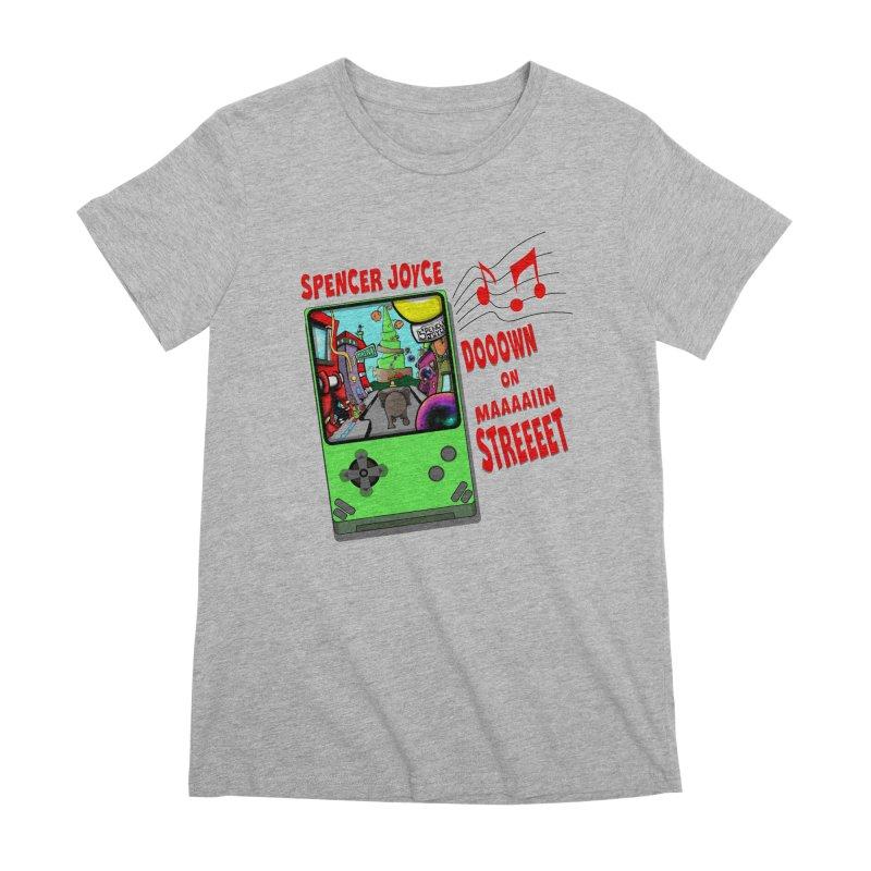 Down on Main Street Women's Premium T-Shirt by MD Design Labs's Artist Shop