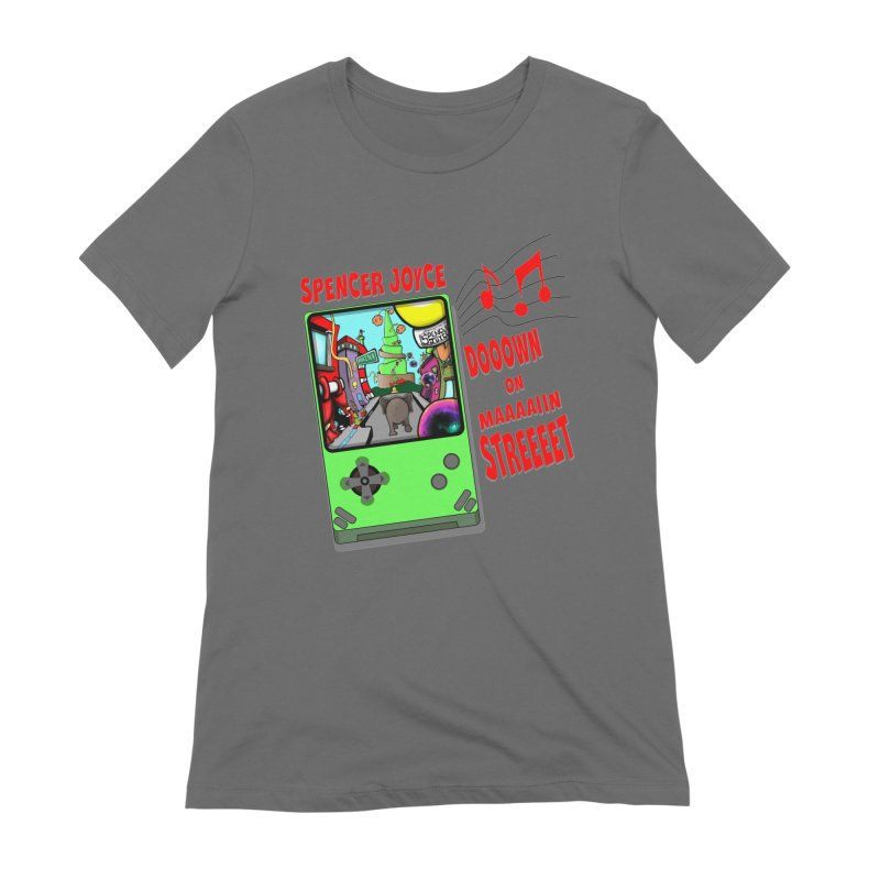 Down on Main Street Women's Extra Soft T-Shirt by MD Design Labs's Artist Shop