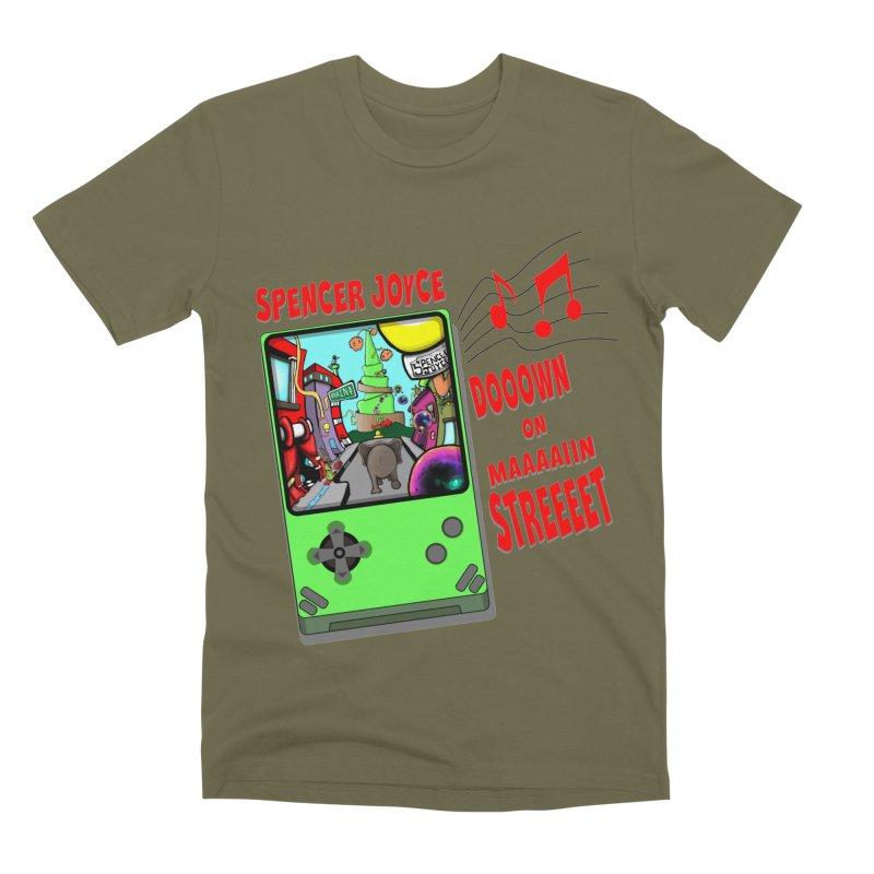 Down on Main Street Men's Premium T-Shirt by MD Design Labs's Artist Shop