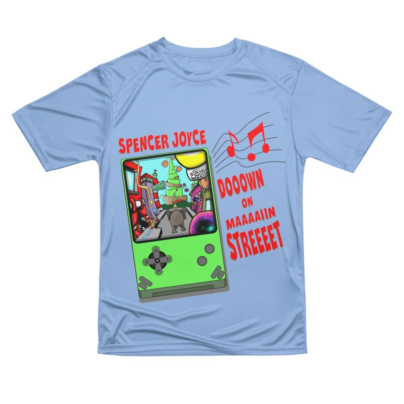 Down on Main Street Women's Performance Unisex T-Shirt by MD Design Labs's Artist Shop