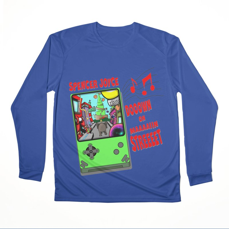 Down on Main Street Women's Performance Unisex Longsleeve T-Shirt by MD Design Labs's Artist Shop
